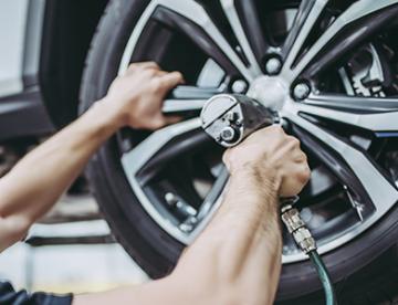 Dæk og fælge montering